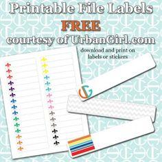 Best Law Office ManagementOrganization Images On Pinterest - Printable file folder labels template