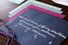 Oh So Beautiful Paper: Sarah + Jeff's Modern Wedding Invitations and Save the Dates