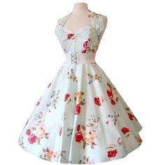 1950s floral dress - Google-søk