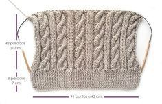 Gorro lana ochos pompom-6 Facilisimo. Muy bien explicado.                                                                                                                                                      Más
