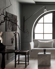 Perspective Studios - Revisit - Only Deco Love Minimalist Interior, Minimalist Decor, Wabi Sabi, Interior Minimalista, Contemporary Home Decor, Rustic Elegance, Living Room Inspiration, Clean Design, Galveston