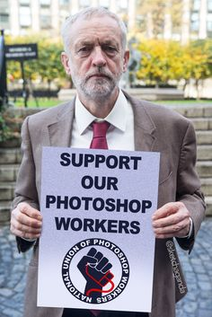 Corbyn supports the NUPW by Sketchaganda Jeremy Corbyn Jeremy Corbyn, Letter Board, Photoshop, Lettering, Cover, Books, Washroom Sign, Livros, Calligraphy