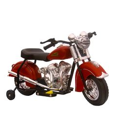 This GiGGo Toys Red Little Vintage Indian Chief Motorcycle Ride-On by GiGGo Toys is perfect! #zulilyfinds
