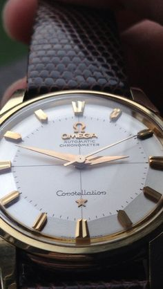 Gorgeous Omega Constellation Pie-Pan