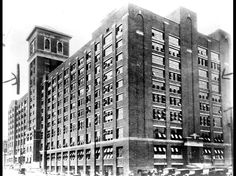 Sears, Roebuck and Company on Ponce de Leon Avenue, Atlanta, Georgia, ca. 1926. The black marks are for photo cropping.