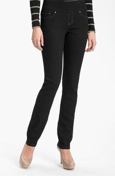 Jag Jeans 'Malia' Slim Leg Jeans (After Midnight Wash) available at #Nordstrom