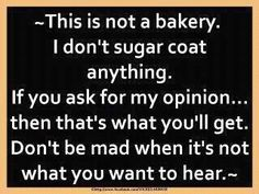 Not a bakery or a woman who gives a shit.