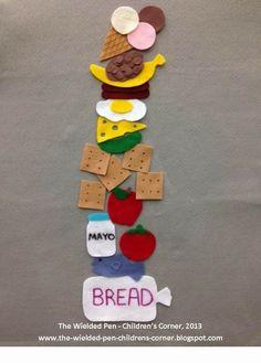 pete the cat preschool | pete the cat pete s big lunch flannel board created