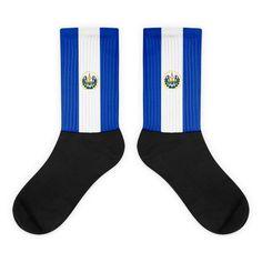 El Salvador - Flag Socks - Choosetorep.com- LDS Missionary- Called to serve