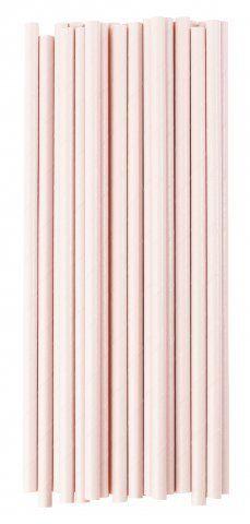 Papieren rietjes roze Geschikt voor elk gelegenheid bevat 25 papieren rietjes Afmeting: L:20 cm Ø: 0,5 cm www.glorioussweets.com