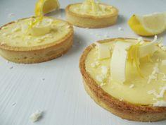 tarte au citron et au chocolat blanc