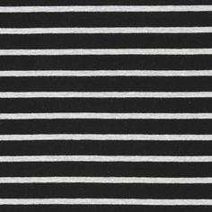 Jersey strepen – zwart