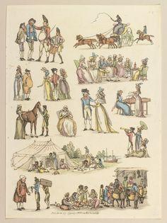 13 vignettes 1790 rowlandson