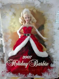 BARBIE HOLIDAY 2007 NRFB - NUOVA - model muse doll Collection collezione Mattel