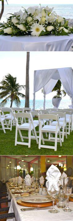 Ceremony - flowers - banquet - Wedding Destination - Beach Wedding - RIU Weddings - The perfect wedding at the beach!