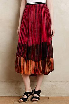 Sunflare Midi Skirt