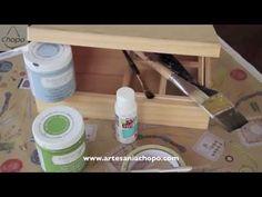 Video DIY, personalizar un costurero con pintura Chalky