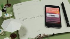 Italian stationery brand Moleskine has added to its collection of smart products with a planner that digitises handwritten notes. Moleskine, Stationery, Notes, Organization, Let It Be, Phone, Computers, Innovation, November