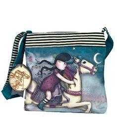 Gorjuss Wool Sling Bag | The Runaway | Santoro-Suzanne Woolcott - From Maia Gifts