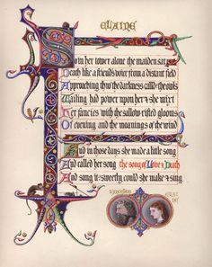 Tennyson's Idylls of the King - Elaine