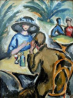 Josef Capek (1887-1945): By the table, before