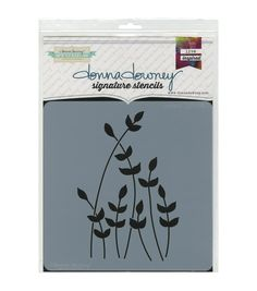 Accentuate your creative projects with fun images using the Donna Downey 8inches x 8inches Signature Stencil-Sprout. Measuring 8 x 8 inches, this lovely stencil features a beautiful design to help you
