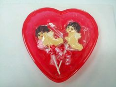 Cupid lollipops