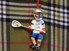 Personalized Male Lacrosse Player Lacrosse by PersonalizeStation