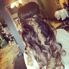 #ombre fishtail braid. So love this!