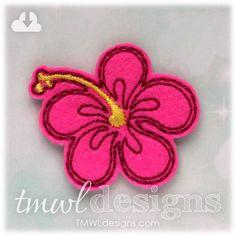 Hibiscus Flower Feltie