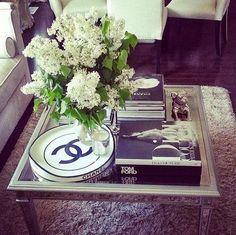 Como decorar sua mesinha de centro - How to decorate your coffe table