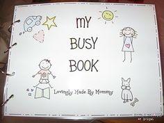 Laminated busy book