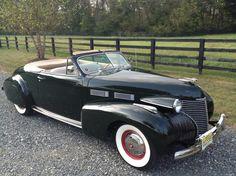 1940 Cadillac Series 62 Convertable