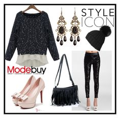 """""""Modebuy.com"""" by modebuy ❤ liked on Polyvore featuring women's clothing, women's fashion, women, female, woman, misses, juniors and modebuy"""