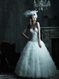 Gorgeous wedding dresses from Allure Couture Spring 2012 bridal collection. Wedding Dress Sizes, Used Wedding Dresses, Gorgeous Wedding Dress, Bridal Dresses, Bridesmaid Dresses, Prom Dresses, Quinceanera Dresses, Allure Couture, Gowns Couture