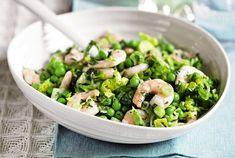 Recipe: Pea, prawn and tarragon salad | Mail Online