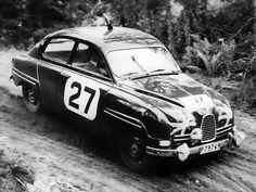 ra Saab 96 Rally Car 1960-1965: