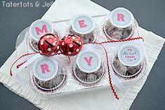 Adorable Jingle  Merry printables via Tatertots  Jello