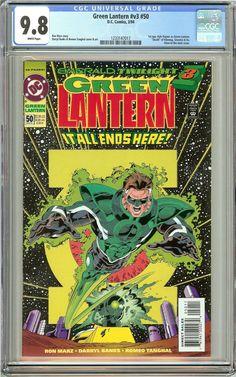 Green Lantern #50 (1994) CGC 9.8 White Pages 1233147017