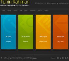 Tuhin Rahman | Web Developer www.tuhin.pw