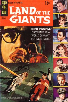 Land Of The Giants Comic Book
