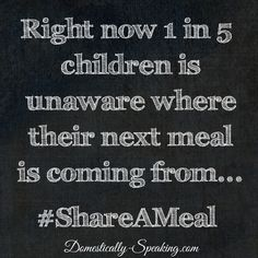 Help fight childhood hunger here in America!  #ShareAMeal @UnileverUSA  @feedingamerica