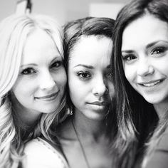 Pin for Later: Go Behind the Scenes of Nina Dobrev's Final Days on the Vampire Diaries Set