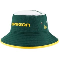New Era Men s Oregon Ducks Green Logo Topper Bucket Hat c3336e07058