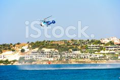 Fire Helicopter royalty-free stock photo