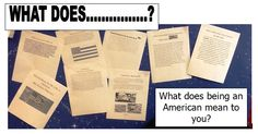 """FREEBIE, Set of higher level """"What Does"""" questions for easy writing enrichment throughout the year!"""