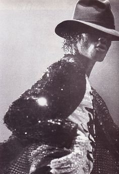 Michael Jackson really was frequently seen sporting his fedora, especially while doing the moon walk.