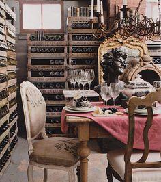 It's gotta be a woman's wine cellar  www.veedercrestwines.com
