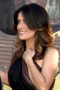 Easy Salma Hayek Hair How-to Guide: Using Human Hair Extensions!