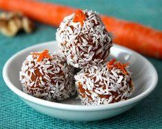Clean Eating Dessert Recipes: Carrot Cake Energy Bites